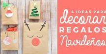 ideas para envolver regalos - NAVIDAD / Ideas para naviad