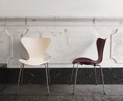 Fritz Hansen's Choice 2017 - Series™ I Republic of Fritz Hansen / We are proud to present Fritz Hansen's Choice 2017 - Series 7™. An icon dressed in two new exclusive colours, Merlot and Nude - with the classic base coated in 22 karat rose gold