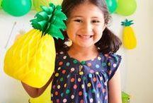 Fiesta verano / Party summer / En este tablero encontrarás ideas para celebrar una fiesta bonita para verano, para celebrar una fiesta de cumpleaños divertida y llena de colores refrescantes.