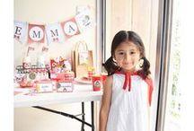 Caperucita roja / ¡Hola! En este tablero voy colocando las fotos de mi tienda online unafiestabonita.com y de mi tienda en Etsy - Temática: Caperucita Roja