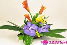 Aranjamente florale lungi