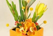 Aranjamente florale patrate