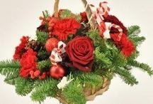 Cosuri cadou de Craciun cu flori