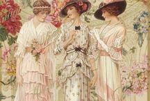 I ❤the Victorian era / Very girly, very me! I love the Victorian era, everything was frilly, over the top!