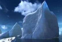 Icebergs❤️ / Something I just love! Something scary yet beautiful about them!