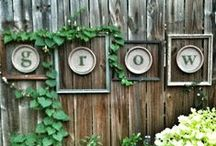 Patio & Garden Decor / Decor for your gardening with cute ideas and DIY projects.