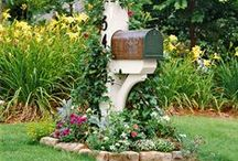 Mailbox Makeovers / Ideas to makeover your mailbox this summer