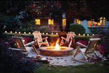 Outdoor Fireplaces / Ideas for outdoor fireplaces