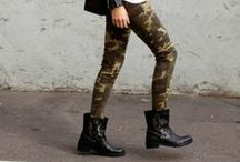 For the daring / The camo print is bold. It is adventurous. And it will inspire you to walk proudly.