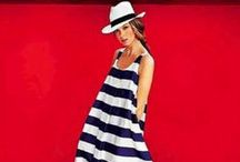Stripes / Long, tall, slimming - the flattering pattern