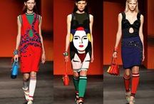 Straight from the runway / Looks that catch our eye on and off the fashion runway