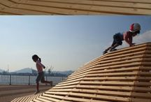 Global Playgrounds / Amazing places where children play in various countries