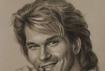 In memory of Patrick Swayze / Patrick was one of the male stars that I had a crush on growing up. Gone, but never forgotten.     / by Jenny Young