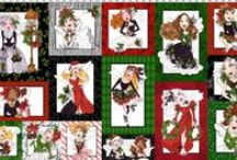 Fairy Merry Christmas Fabric / http://www.loraliedesigns.com/collections/fairy-merry-christmas-fabric
