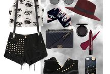 Polyvore outfits (styled by me)