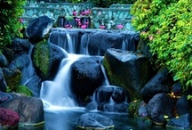 Funky water features