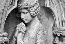 Cemetary Art / A quiet contemplation ... / by FLOSSIE