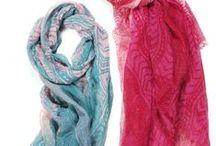 Spring/Summer 2013 / #Spring 2013 #scarf styles from the #collection #accessories #ElizabethGillett #scarves #NewYork, #designer #watercolor #fashion #accessories #cashmere http//: www.elizabethgillett.com instagram: @elizabethgillett facebook: https://www.facebook.com/elizabethgillettnyc/
