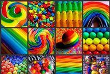 ☆ミRAїNBOWZ彡 / ♥ RAINBOWS ...This Board is an absolute COLOUR BOMB!!  If you don't already love colours .. YOU WILL!!♥ / by Dylanna \m/