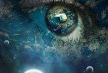 ★☆EYΞ ☆F †HΞ 凹NїV∈R§E☆★ / In The Eye Of The Universe ☆ミ  ☆ 彡 S P A C E + GALAXIES ☆ミ ☆彡  / by Dylanna💀