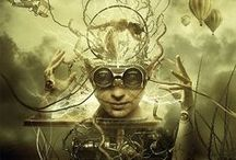 ◈§†∈@M AR†◈ / ◈§†∈@M•A®†◈... An Amazing Collection Of Steampunk ART... ₪Digital Art ₪Paintings ₪Sculptures ↭