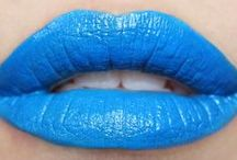 blue lipcolours / by The Love of Colour