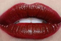 burgundy lipcolours / by The Love of Colour