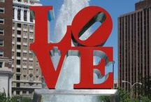 PHILADELPHIA, PA / Want to know more about the great city of Philadelphia?  Follow this board for great skyline photos as well as tips for spots to visit in and around Philly.