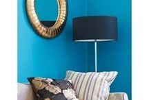BLUE ROOM / A color cooridinated board all about BLUE home decor