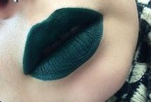emerald lipcolours / by The Love of Colour