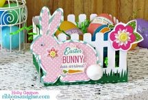 Easter Bunny... / Delicious Easter eggs and ideas.