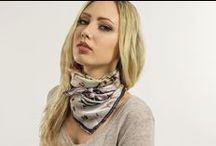 Neckerchief / Bandana / #Silk #SillkSquares, #bandanas, #Neckerchief #Scarves #ElizabethGillett #designer #NYC #Squarescarves #headscarves #hair