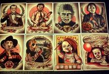 ↭H⊙RR⊙R їN₭ / HorrorㆁTattoos ~ Mostly Horror Movie Icons ㆁReborn In Ink ㆁIntense ㆁGore ㆁCreepy ㆁScary ㆁTwisted Ink§ I ((♥))