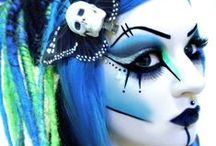 ◀G⊙†H ↭ ÜP§▶ / ↭ All Kinds Of Extreme G⊙†HїC Make~Up + Hairstyle Inspirations ↭