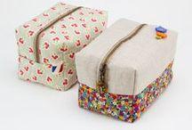 Textil-dobozok, tokok,
