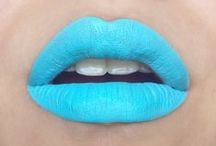 sky blue lipcolours / by The Love of Colour