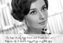 Dear Audrey, tell me about yourself! / Audrey Hepburn quotes that will tell you a little bit more about the star! Follow our blog for more: www.beingaudreyhepburn.com