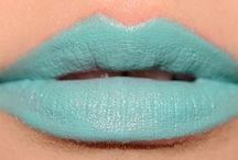 aqua lipcolours / by The Love of Colour