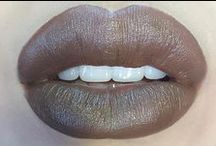 taupe lipcolours / by The Love of Colour