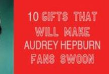 Gifts That Will Make Audrey Hepburn Fans Swoon / The best last minute gifts for Audrey Hepburn fans! Find out more here: http://www.buzzfeed.com/beingaudreyhepburn/10-unique-audrey-hepburn-gifts-for-the-holiday-sea-1798o
