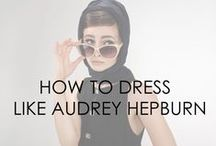 Audrey Hepburn Inspired Fashion / A modern twist on Audrey Hepburn's iconic look. Subscribe to our email subscription list on our website: www.beingaudreyhepburn.com