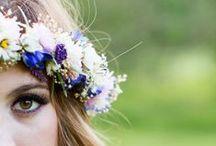 Coronas & Tocados ~ Headpiece Ideas / Coronas, tiaras, diademas, peinetas, pamelas,... distintas alternativas que dan un toque muy especial!!  #Headpiece #Headwear