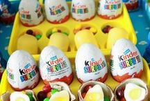 Kinder Surprise Themed Party