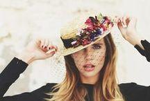 Canotiers. Sombreros & More / Sombreros súper estilosos para lucir en una boda o evento #trendy #hat #boater