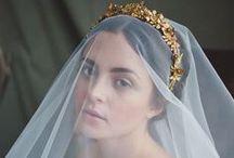 Velos ~ Veils / Tradicional o innovador, en este tablero encontrarán un montón de ideas de novias llevando velo.