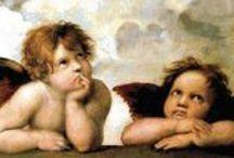 Patrones GRATIS Punto Cruz PDF ANGELES / Gráficos gratis para bordar en punto de cruz, descargar en pdf e imprimir, con dibujos de angeles, angelitos y querubines