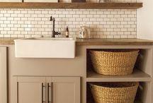 Pleasant LAUNDRY / Laundry room design & ides