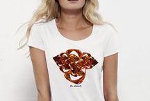 """Camisetas de autor """"The Origen"""" Mujer / Aquí os presentamos nuestras primeras camisetas personalizadas por el autor para Mujer, los diseños los realizamos nosotros mismos, esperamos os gusten"""