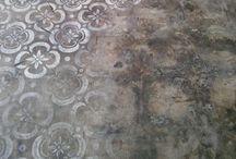 Pleasant FLOORS / Floor designs and materials