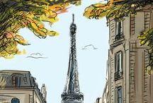 Paris, Paris, Paris / by Pat Roisman